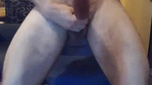 Hot cock sucking cougar jerks off a shot of her son