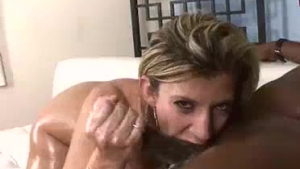 Mature blonde woman, June Summers likes to ride a rock hard dick, until she has orgasms